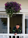 Michael Clarke ponders his retirement decision on final day of the 4th Ashes Test (photo via ESPN Cricinfo)